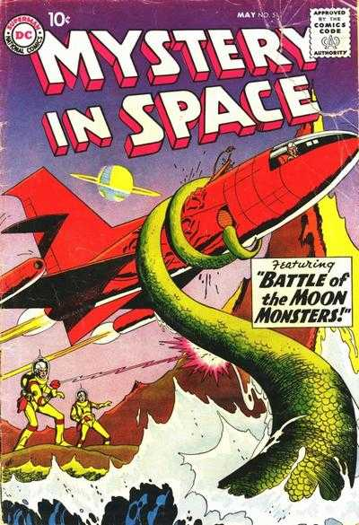 Mystery Space Comic Books