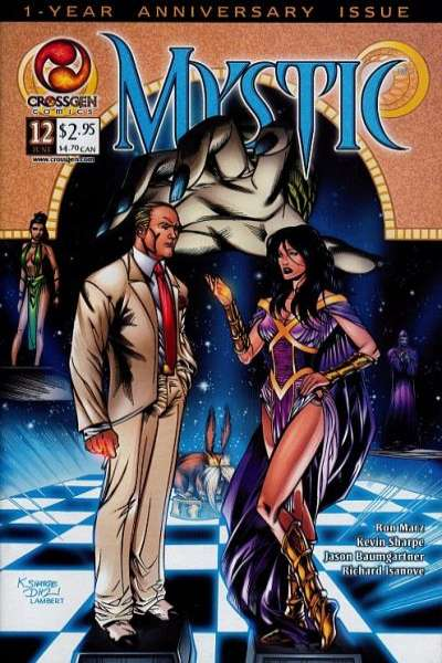 Mystic #12 comic books - cover scans photos Mystic #12 comic books - covers, picture gallery