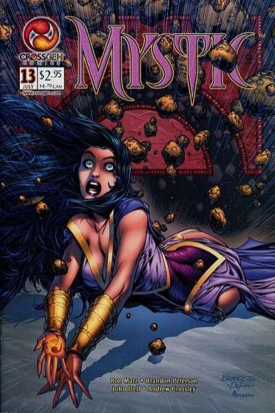 Mystic #13 comic books - cover scans photos Mystic #13 comic books - covers, picture gallery