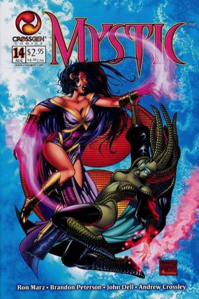 Mystic #14 comic books - cover scans photos Mystic #14 comic books - covers, picture gallery