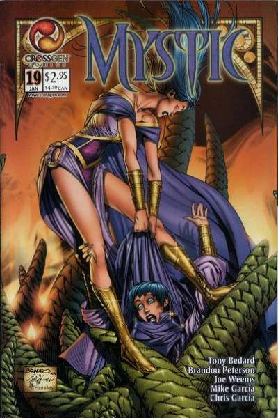 Mystic #19 comic books - cover scans photos Mystic #19 comic books - covers, picture gallery