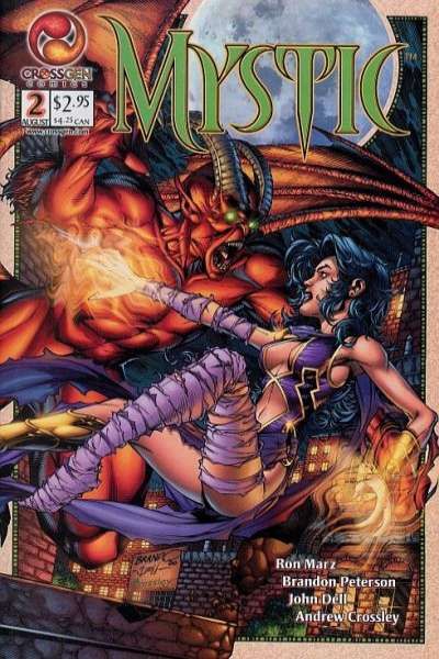 Mystic #2 comic books - cover scans photos Mystic #2 comic books - covers, picture gallery