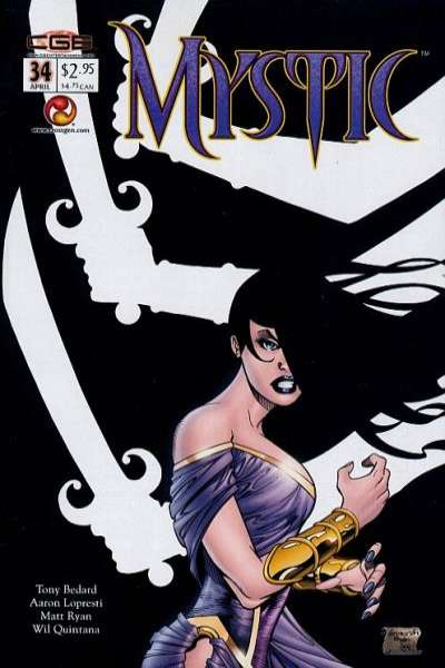 Mystic #34 comic books - cover scans photos Mystic #34 comic books - covers, picture gallery