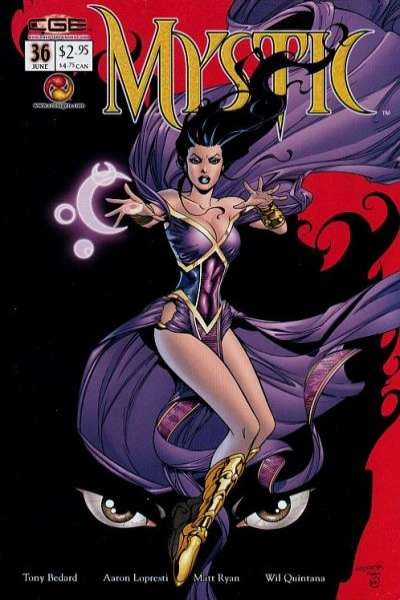 Mystic #36 comic books - cover scans photos Mystic #36 comic books - covers, picture gallery