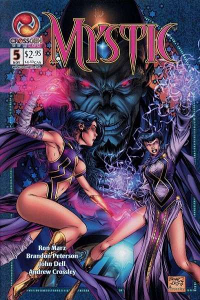 Mystic #5 comic books - cover scans photos Mystic #5 comic books - covers, picture gallery