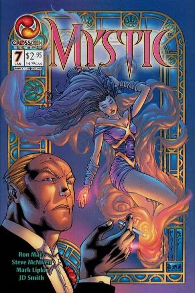 Mystic #7 comic books - cover scans photos Mystic #7 comic books - covers, picture gallery