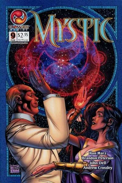Mystic #9 comic books - cover scans photos Mystic #9 comic books - covers, picture gallery
