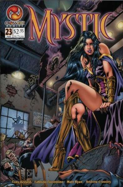 Mystic #23 comic books - cover scans photos Mystic #23 comic books - covers, picture gallery