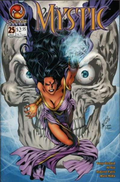 Mystic #25 comic books - cover scans photos Mystic #25 comic books - covers, picture gallery