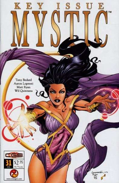 Mystic #31 comic books - cover scans photos Mystic #31 comic books - covers, picture gallery