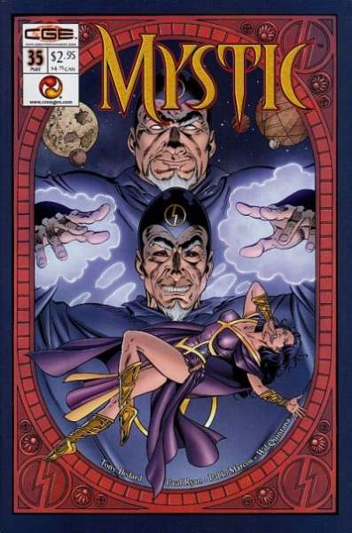 Mystic #35 comic books - cover scans photos Mystic #35 comic books - covers, picture gallery