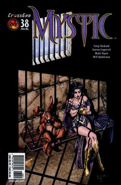 Mystic #38 comic books - cover scans photos Mystic #38 comic books - covers, picture gallery
