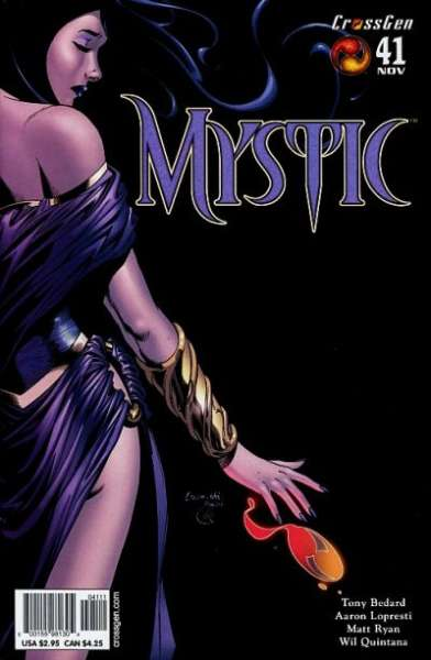 Mystic #41 comic books - cover scans photos Mystic #41 comic books - covers, picture gallery