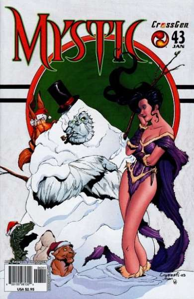 Mystic #43 comic books - cover scans photos Mystic #43 comic books - covers, picture gallery