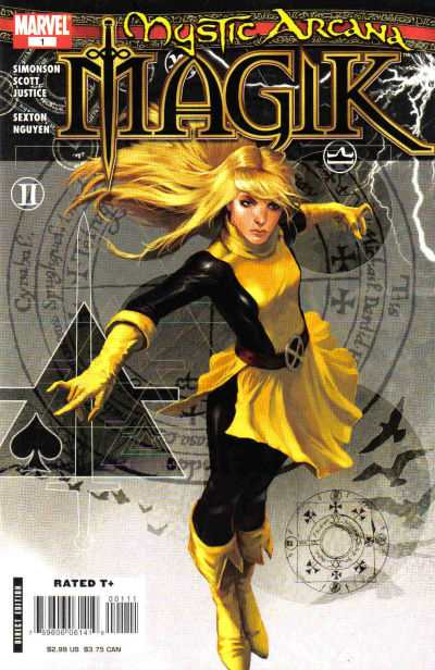Mystic Arcana #1 comic books - cover scans photos Mystic Arcana #1 comic books - covers, picture gallery