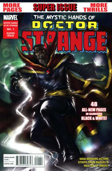 Mystic Hands of Doctor Strange #1 comic books - cover scans photos Mystic Hands of Doctor Strange #1 comic books - covers, picture gallery