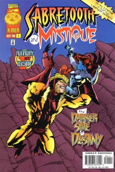 Mystique & Sabretooth comic books