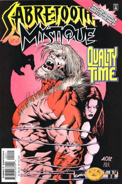 Mystique & Sabretooth #2 Comic Books - Covers, Scans, Photos  in Mystique & Sabretooth Comic Books - Covers, Scans, Gallery