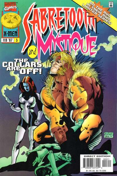 Mystique & Sabretooth #3 Comic Books - Covers, Scans, Photos  in Mystique & Sabretooth Comic Books - Covers, Scans, Gallery
