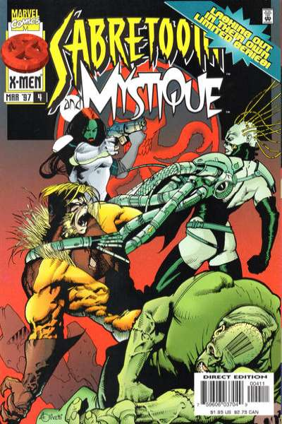 Mystique & Sabretooth #4 Comic Books - Covers, Scans, Photos  in Mystique & Sabretooth Comic Books - Covers, Scans, Gallery