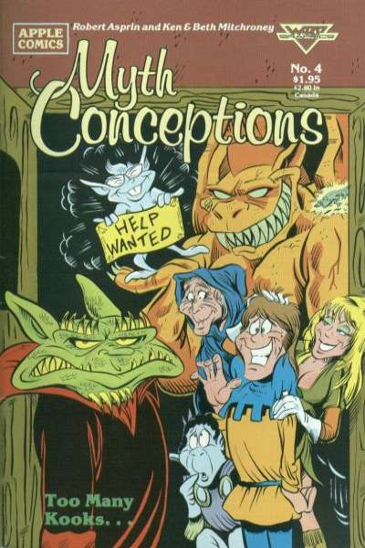 Myth Conceptions #4 comic books for sale