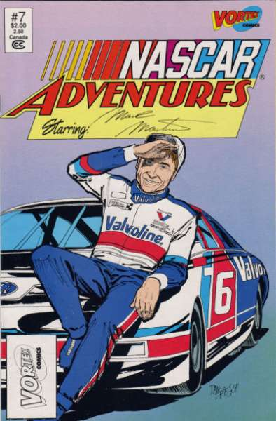 NASCAR Adventures #7 Comic Books - Covers, Scans, Photos  in NASCAR Adventures Comic Books - Covers, Scans, Gallery