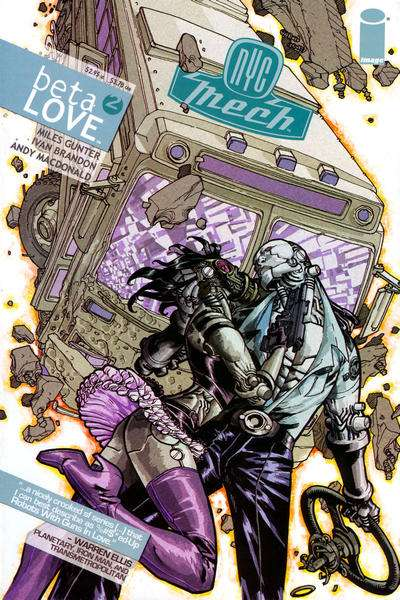 NYC Mech: Beta Love #2 comic books for sale