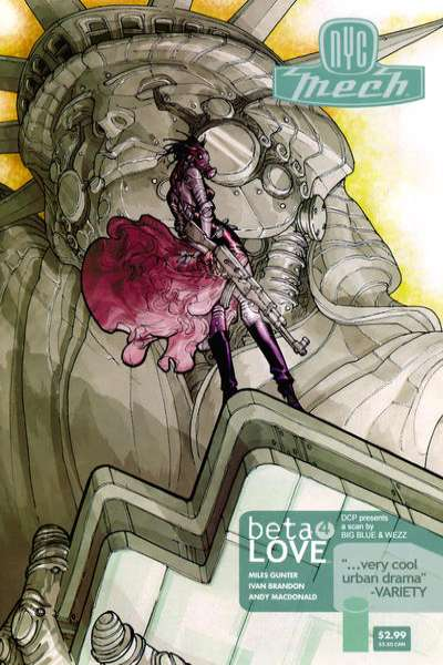 NYC Mech: Beta Love #4 comic books for sale