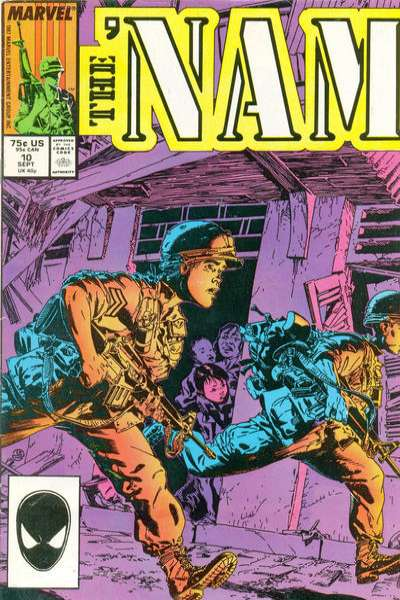 Nam #10 comic books - cover scans photos Nam #10 comic books - covers, picture gallery