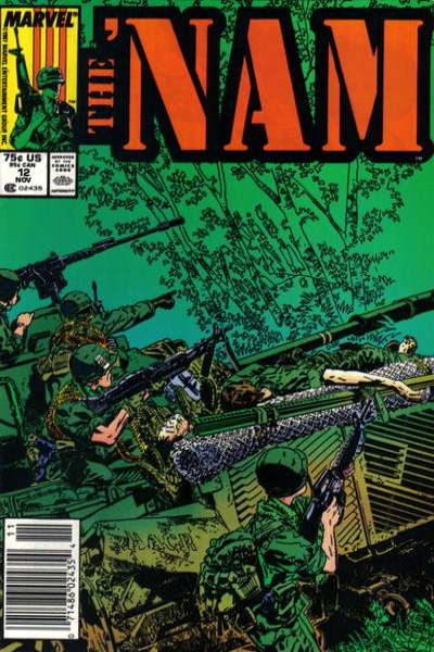 Nam #12 comic books - cover scans photos Nam #12 comic books - covers, picture gallery