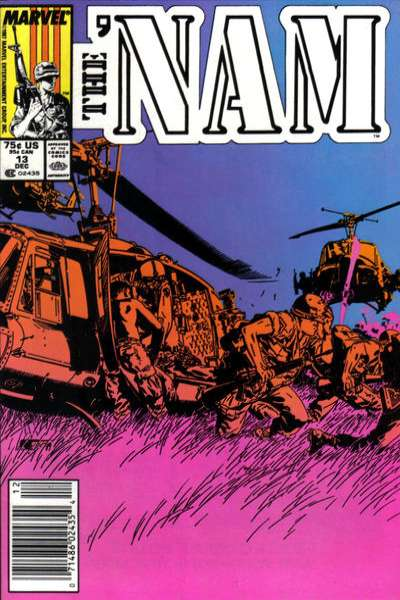 Nam #13 comic books - cover scans photos Nam #13 comic books - covers, picture gallery