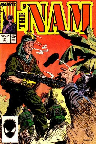 Nam #14 Comic Books - Covers, Scans, Photos  in Nam Comic Books - Covers, Scans, Gallery