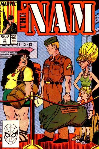 Nam #15 comic books for sale