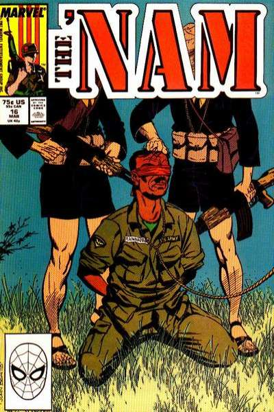Nam #16 comic books - cover scans photos Nam #16 comic books - covers, picture gallery