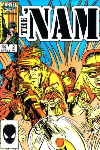 Nam #2 comic books - cover scans photos Nam #2 comic books - covers, picture gallery