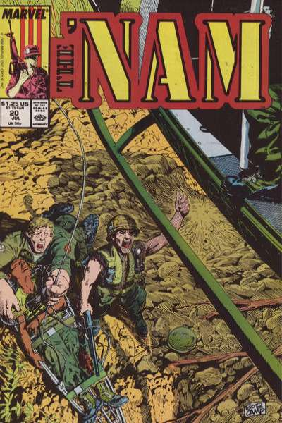 Nam #20 Comic Books - Covers, Scans, Photos  in Nam Comic Books - Covers, Scans, Gallery