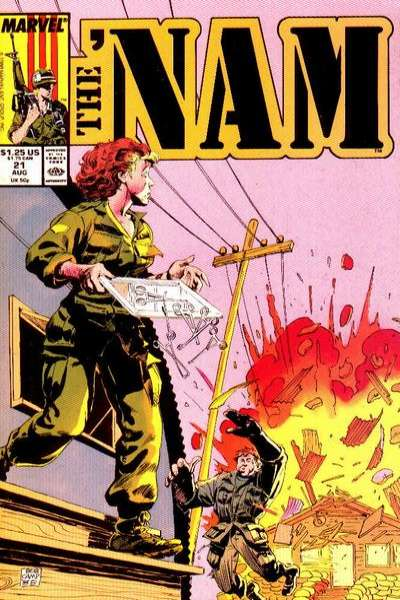 Nam #21 Comic Books - Covers, Scans, Photos  in Nam Comic Books - Covers, Scans, Gallery
