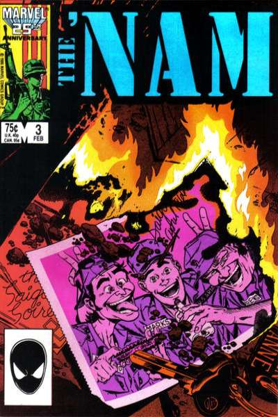 Nam #3 comic books - cover scans photos Nam #3 comic books - covers, picture gallery