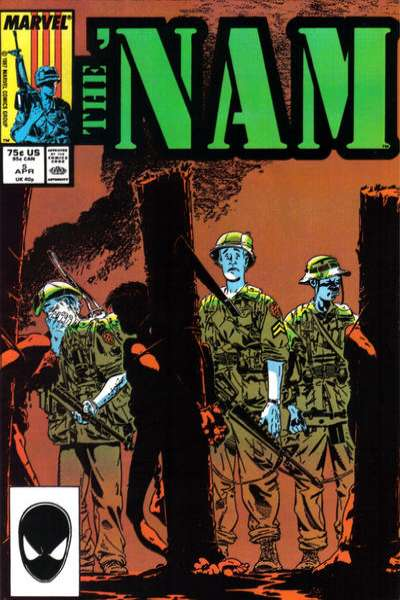Nam #5 comic books - cover scans photos Nam #5 comic books - covers, picture gallery