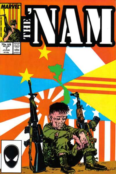 Nam #7 comic books for sale