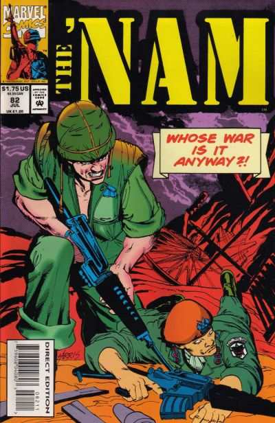 Nam #82 Comic Books - Covers, Scans, Photos  in Nam Comic Books - Covers, Scans, Gallery
