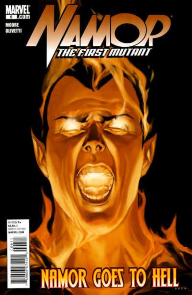 Namor: The First Mutant #6 comic books for sale