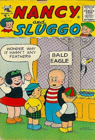 Nancy & Sluggo #137 comic books for sale