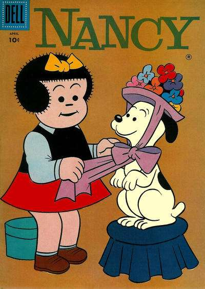 Nancy & Sluggo #153 comic books - cover scans photos Nancy & Sluggo #153 comic books - covers, picture gallery