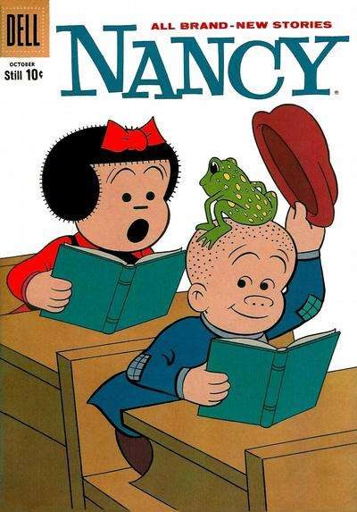 Nancy & Sluggo #171 comic books - cover scans photos Nancy & Sluggo #171 comic books - covers, picture gallery