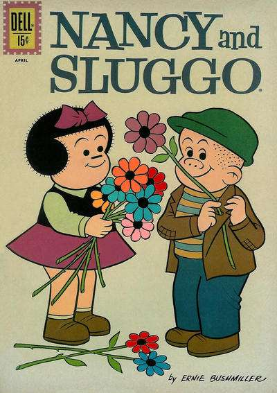 Nancy & Sluggo #187 comic books - cover scans photos Nancy & Sluggo #187 comic books - covers, picture gallery