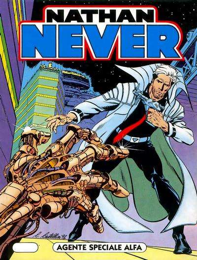 Nathan Never comic books