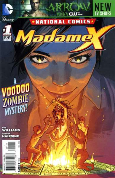 National Comics: Madame X #1 comic books - cover scans photos National Comics: Madame X #1 comic books - covers, picture gallery