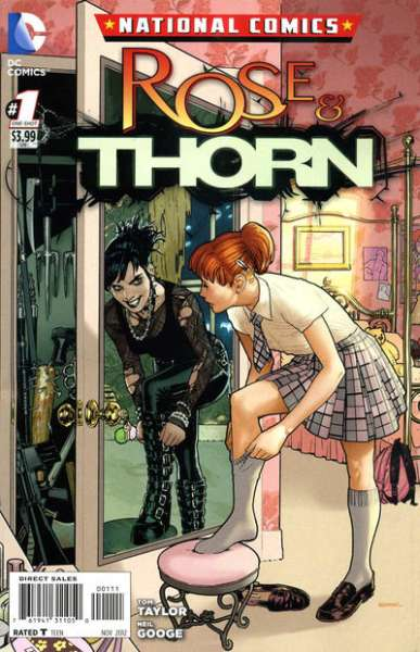 National Comics: Rose & Thorn #1 comic books - cover scans photos National Comics: Rose & Thorn #1 comic books - covers, picture gallery