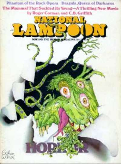 National Lampoon: Volume 1 #20 comic books for sale